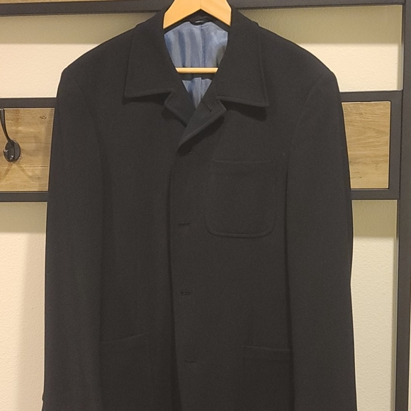Kenneth Cole Other - Mens Black Wool Suit Jacket